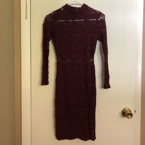Charlotte Russe Lace Bodycon